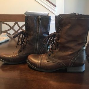 Steve Madden Troopa Boots • 8.5 • Brown